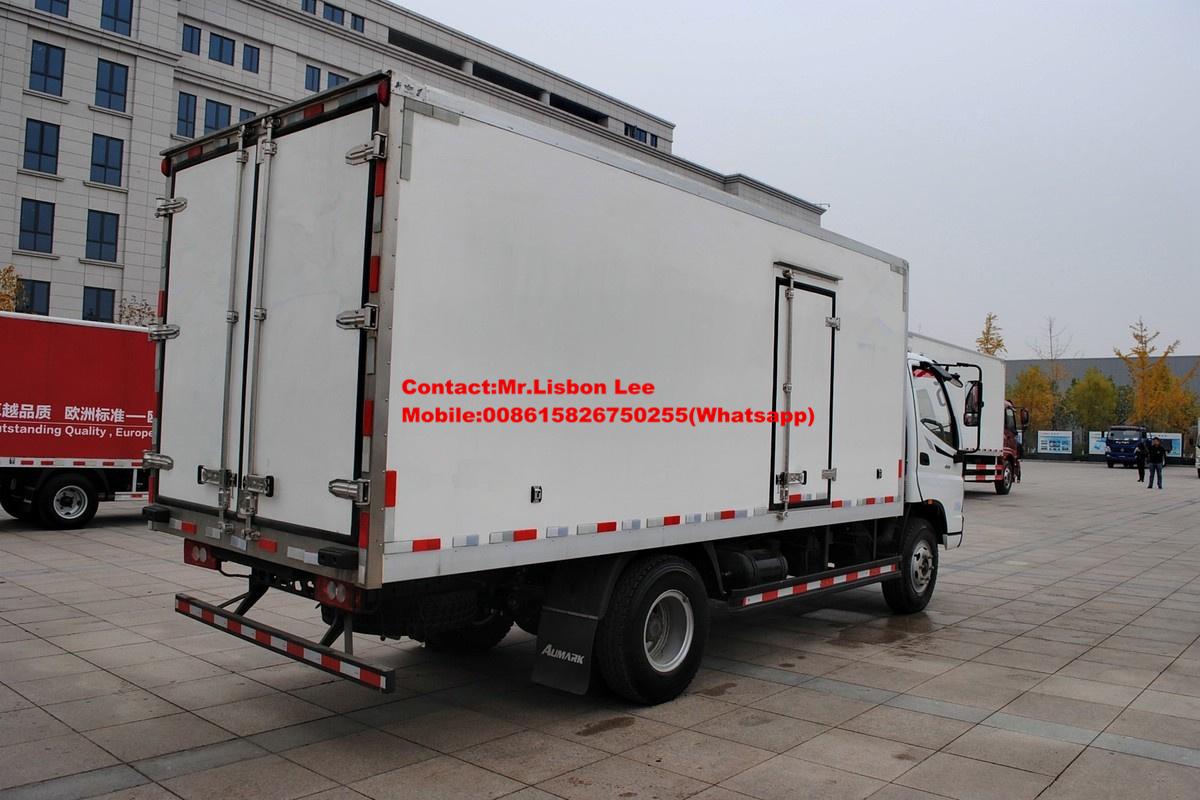 cb3e96b0e4 FOTON Aumark refrigerated van truck 8Ton